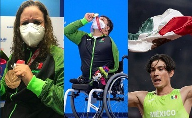 México supera marca de 300 medallas en Juegos Paralímpicos con dos oros y dos bronces