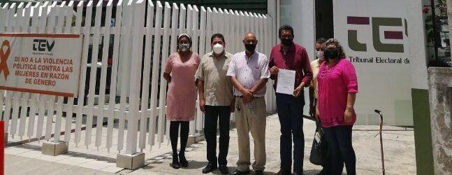 TEV efectúa audiencia de pruebas y alegatos  de elección municipal de Jesús Carranza