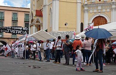 Se vuelven a manifestar informales del  Frente Único de Vendedores Ambulantes