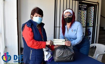 Realiza DIF entrega de despensas del programa para personas con discapacidad