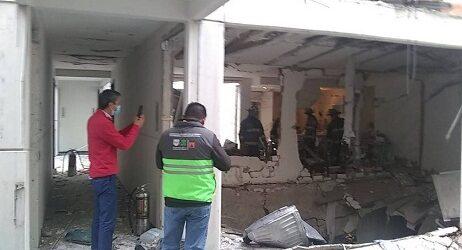 Una explosión en un edificio de Ciudad de México deja al menos 22 heridos