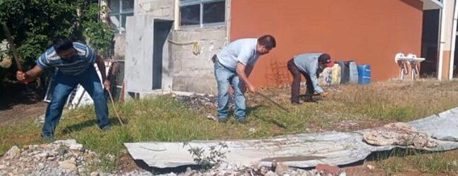 Ordena Ayuntamiento de Comapa mantenimiento a las escuelas del municipio