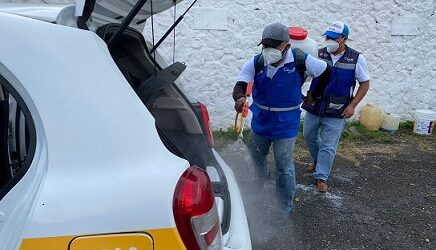 LO QUE SE DEBE HACER EN TODOS LADOS…Personal del Ayuntamiento de Córdoba realiza recorridos de supervisión en espacios públicos y jornada de sanitización