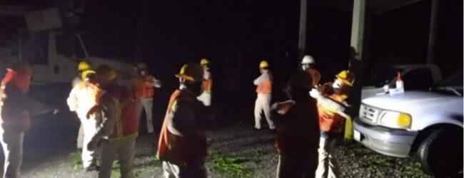Huracán Grace deja sin luz a más de 565 mil usuarios en Veracruz, Hidalgo, Puebla y SLP