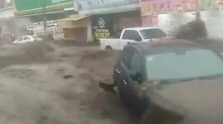 El agua lo arrastró todo, 8 videos de la tormenta de Ecatepec