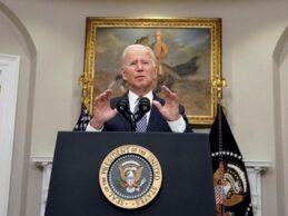 NOS DA CON GUANTE BLANCO…. Biden destaca negociación del T-MEC y diálogos sobre migración en mensaje a AMLO por Independencia de México