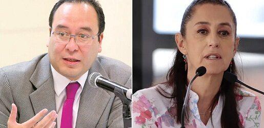 """LE RESPONDEN A LA """"PRESIDENTA""""…""""Pura demografía y matemáticas"""", responde Murayama a Sheinbaum sobre distritos en CDMX"""