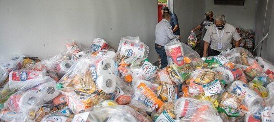 """Dona Fundación Granjas Carroll 9 toneladas  de víveres a afectados por el Huracán """"Grace"""""""