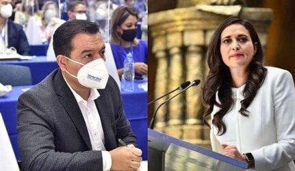 PUES AHÍ SON VARIOS LOS DELITOS…Exigen PAN y PRI renuncia e inhabilitación a Delfina Gómez tras multa del INE por moches en Texcoco