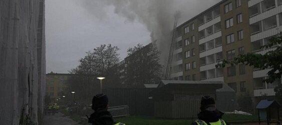 Explosión deja 20 heridos en zona de departamentos en Suecia