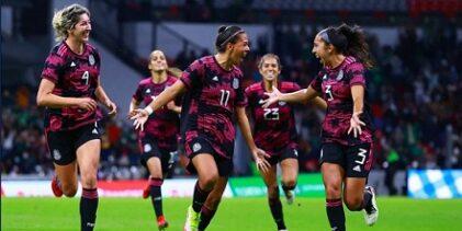 La Selección Mexicana Femenil se impone a Colombia en el Estadio Azteca