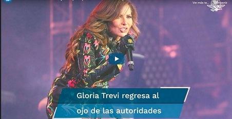 UIF denuncia a Gloria Trevi y su esposo por defraudación fiscal y lavado de dinero