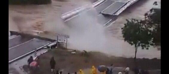 Video: Así fue el impactante desplome del puente El Quelite en Sinaloa