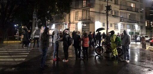 Se registra fuerte sismo 6.9 grados en la Ciudad de México