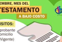 Invita DIF Municipal a participar en Campaña de Testamento a Bajo Costo