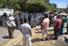 Manifestantes cierran válvulas de agua del sistema de  bombeo de El Castillo que surte a varias colonias capitalinas
