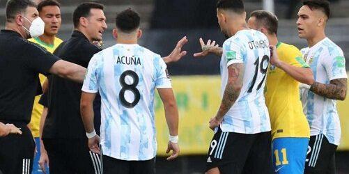 Brasil vs Argentina: Conmebol anunció la suspensión del partido