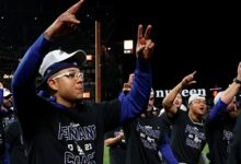 Dodgers se impone a Giants y avanza a la Serie de Campeonato