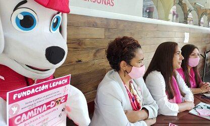 Fundación Lepach realiza caminata con causa para    recaudar fondos y ayudar a mujeres con cáncer