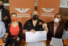 MC exigirá al INE remueva a consejeros del OPLE que aprobaron asignación de plurinominales afectando a este partido
