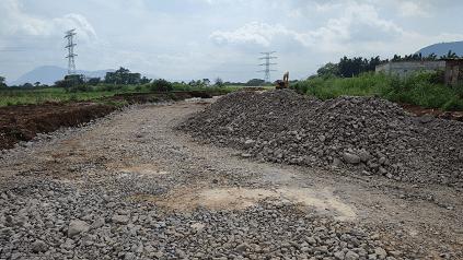 Construyen nueva vialidad en Ixtaczoquitlán