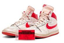 Sotheby's subastará par de tenis de Michael Jordan valorados en 1.5 mdd